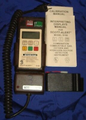 BH516 Vtg Scott Alert Gas Detection Instrument S108