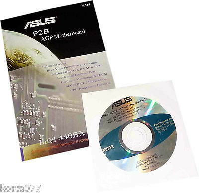 Vintage Mainboard User's Manual /w Support CD, ASUS P2B AGP Motherboard