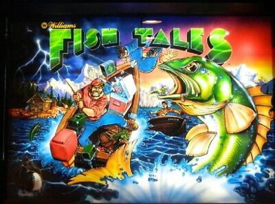 FISH TALES Pinball Complete LED Lighting Kit SUPER BRIGHT LED