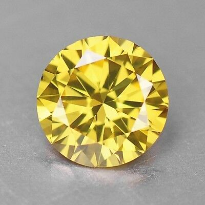 0.20 Cts EXCELLENT RARE YELLOW COLOR NATURAL LOOSE DIAMONDS