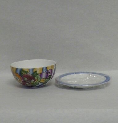 Porcelain Glass Bowl and Plate