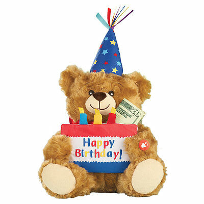 Musical Happy Birthday Plush Bear, by Collections Etc