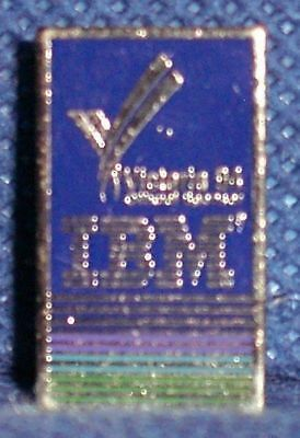 MB228 Vtg Old IBM Victoria BC 1994 Official Sponsor Lapel Pin
