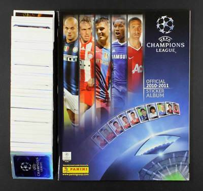 Champions League 2010 Panini Leeralbum Sticker 1 - 564 komplett ungeklebt