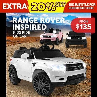 RIGO Kids Ride On Car RANGE ROVER Sport Coupe Electric Toys Remote Control 12V