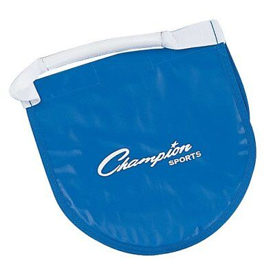 Champion Sports Shot Put & Discus Carrier Reinforced Vinyl Bag Holder w/ Flap