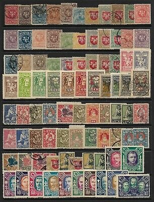 LITHUANIA Selection on Old Stock Page