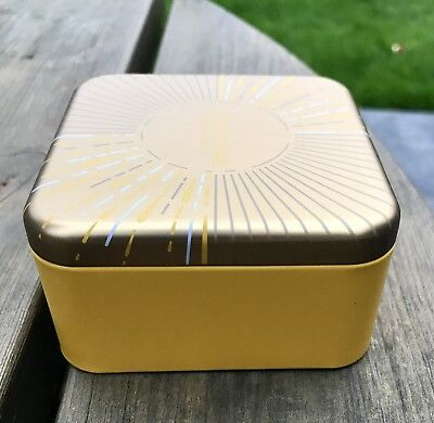loccitane Square Tin. Ideal For Jewellery Or Trinkets! This Season! Free P&P!!