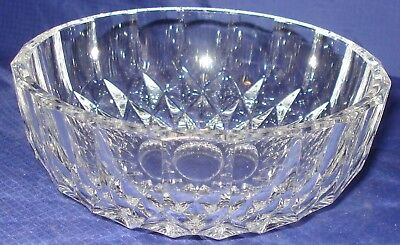 ML117 Vtg EAPG Clear Glass Candy Dish