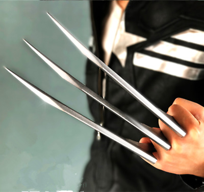 US!2 PCS/1 Pair X-men Wolverine Claws ABS Logan Paws Cosplay Halloween Xmas Gift