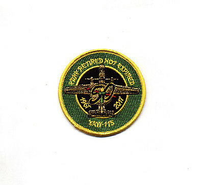 USN VAW-115 LIBERTY BELLS 1967-2017 50th ANNIVERSARY/FDNF RETIRED SHOULDER PATCH