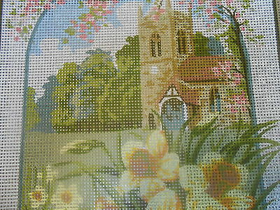 """Anchor """"Country Church"""" Printed Tapestry Canvas"""