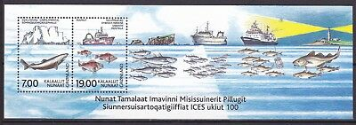 Greenland 2002 Exploration Of Sea S/s (7) Mint Never Hinged