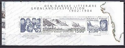 Greenland 2003 Expedition S/s (8) Mint Never Hinged