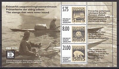 Greenland 2001 Essays S/s (10) Mint Never Hinged