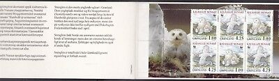 Greenland 1999 Wwf Complete Booklet (12) Mint Never Hinged