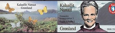 Greenland 1997 Butterflies & Queen Complete Booklet (14) Mint Never Hinged