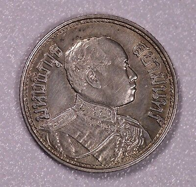 Be2468 Thailand 1/4Baht Silver Toned Xf-Aunc
