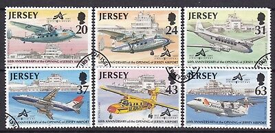 Jersey 1997 Aircraft Set (19) Used