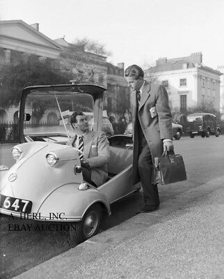 Messerschmitt KR200 1956 - bubblecar - minicar – photograph press photo