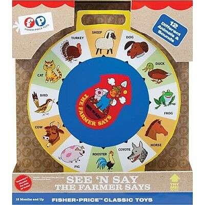 Fisher-Price Classics - See''N Say Farmer