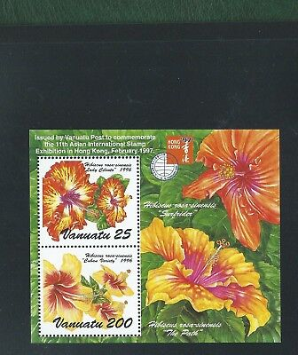Philippines Vanuatu Guinea St Helena etc 7 Flowers Minisheets orchids stamps MNH