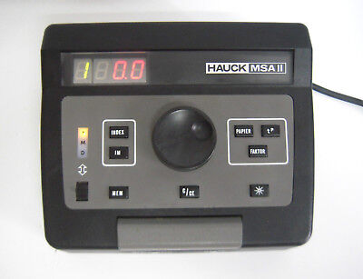 HAUCK MSA II Enlarger Timer for Laboratory Print Paper. ---M68