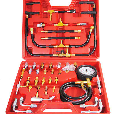 HYDRAULIC PRESSURE TEST kit with 2 pressure gauges Thi - £42 00