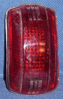 RF747 1940 Plymouth Tail Light Lens Glass