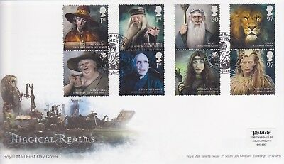 Gb Stamps First Day Cover 2011 Magical Realms Arthur Road Rare Pmk Collection