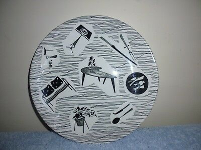 Vintage Homemaker plate by Ridgway Potteries. 20cm/8in.VGC.