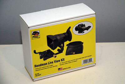 NEW Hoodman Live View Kit for All DSLR Cameras