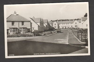 North Park Auchtermuchty Rp Pc 1940S Housing Estate Newly Built Fife