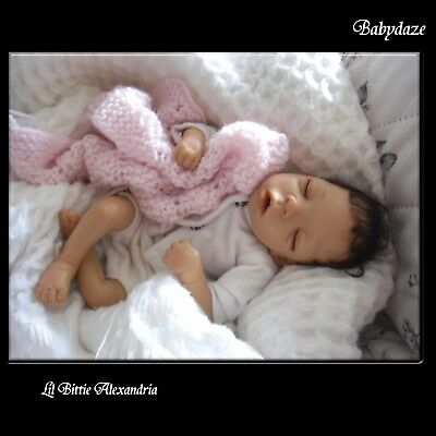 Adorable Baby Girl  - Lil Bittie Alexandria - By Lorna Miller Sands