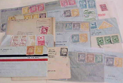 Bolivia  17  Small Covers 125-1939  Mostly To Usa
