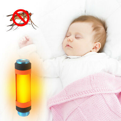 LED Flashlight Mosquito Insect Repellent Lamp Camping Lantern Power Bank HS1027