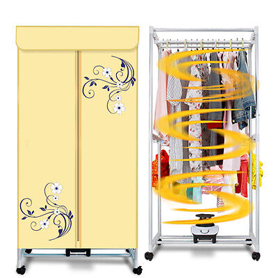 Portable Home Energy-saving Rotary Control Panel Electric Air Clothes Dryer