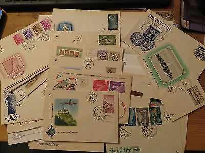 Israel Vintage FDC Collection,50 pieces
