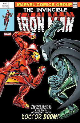 Invincible Iron Man #593 3D Lenticular Variant Legacy (Marvel 2017) Comic