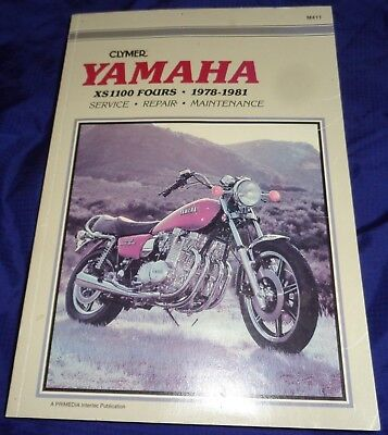 RP2127 Clymer 1978 1979 1980 1981 Yamaha XS100 Motorcycle Service Manual NEW
