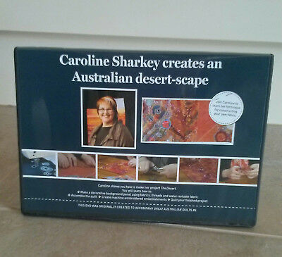 Caroline Sharkey Creates An Australian Desert-Scape Dvd ~ New
