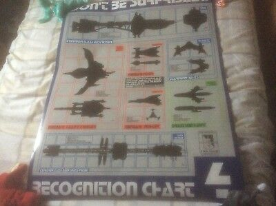 Babylon 5 - Spacecraft Recognition Chart Poster