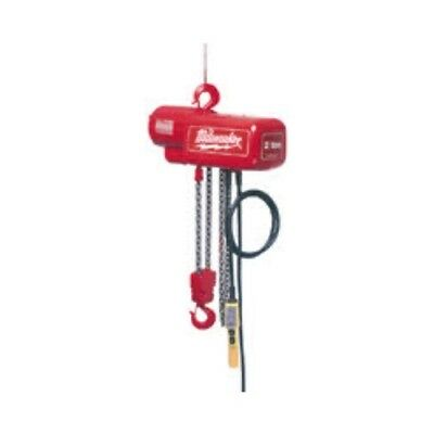 Milwaukee 9562 1/2 Ton Electric Chain Hoist - 20 ft.