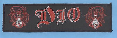 Ronnie James Dio Sacred Heart vintage 1980s  'Superstrip' SEW-ON PATCH