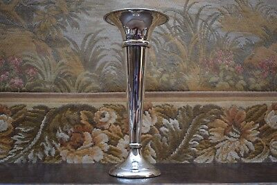 "ECHT 925-er Sterling-Silber "" VASE "" WALKER & HALL "" 19,2 cm, 185 Gramm WEIGHTED"