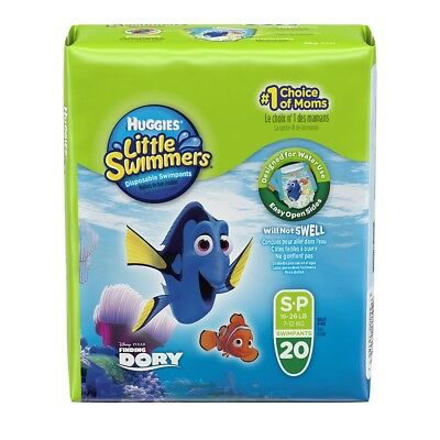 Huggies Little Swimmers Diposable Swimpants, Small