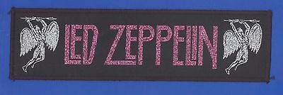 Led Zeppelin Song Remains The Same vintage 1980s  'Superstrip' SEW-ON PATCH