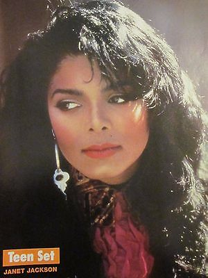 Janet Jackson, Chad Allen, Double Full Page Vintage Pinup