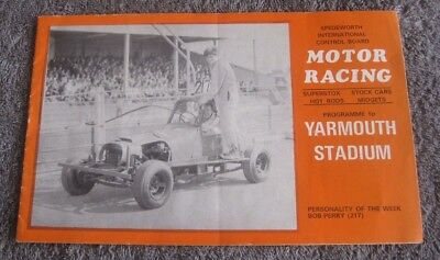 YARMOUTH STADIUM   MOTOR RACING   JULY 13th