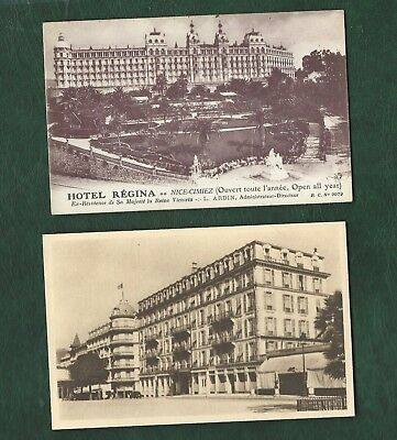 All World old Hotel Postcards used and unused colour/b&w 12 different France (c)